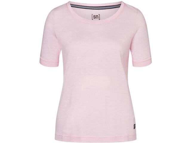super.natural Essential Scoop Camiseta Mujer, fairytale melange